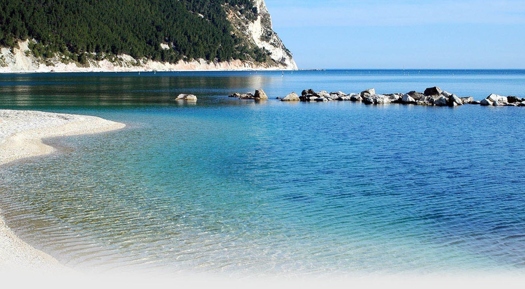 Sirolo, le spiagge